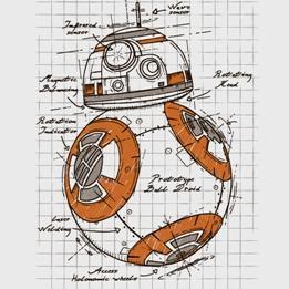 Robot sphérique type BB-8